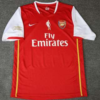 Retro Arsenal 2007 vintage home jersey