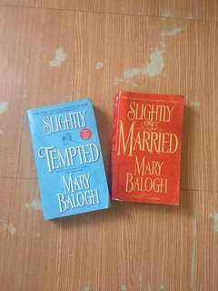 Mary Balogh romance novel pack