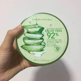 Nature Republic Aloe Vera 92% Soothing Gel Original