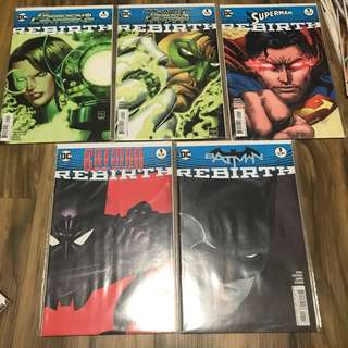 Dc rebirth one shot issues