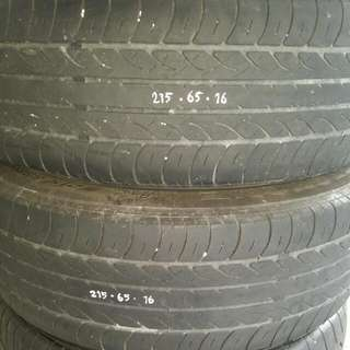215.65 16 Used Tyre