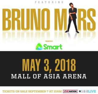 Looking for 2 Gen. Ad Tickets for 24K Magic Concert of Bruno Mars