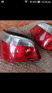 BMW tail lights