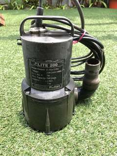 Elite 200 water pump, filter pump, pond motor