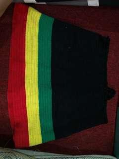 Rasta reggae skirt