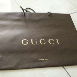 Gucci Paper Bag (48cm x 36cm x 17.5cm)