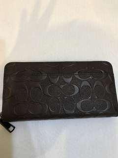 Coach Long Wallet Purse Pouch Coin Bag
