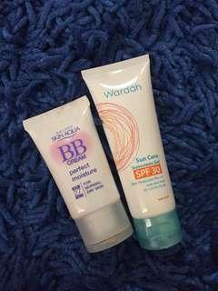 Promo! Beli 1 gratis 1 skin aqua bb cream&suncare wardah