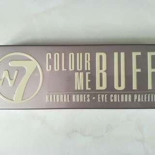 W7 Colour Me Buff Natural Nudes Eye Colour Pallette