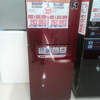 Cicilan kulkas tanpa kartu kredit proses cepat 3 menit lg promo dp 0%