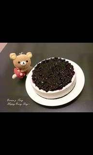 自製 藍莓芝士蛋糕