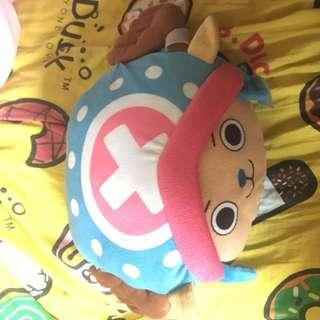 One piece chopper doll 海賊王索拍公仔 (可暖手用)