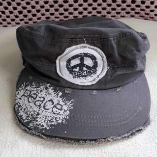 TATTERED PEACE CAP ADJUSTABLE