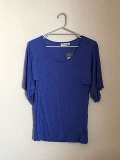 BNWT oversized soft purple top
