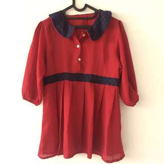 #diskonnih Blouse Red