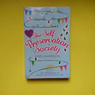 The Self Preservation Society by Kate Harrison