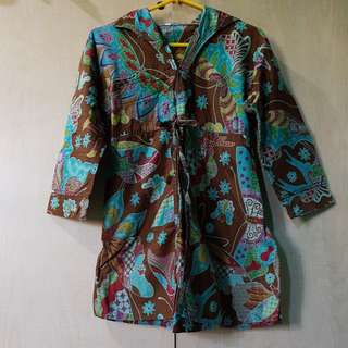 Baju batik lucu