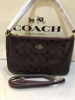 Coach Large Wristlet Original Coach women sling bag