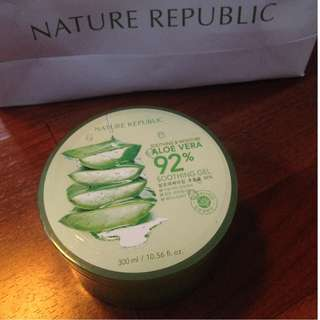 NATURE REPUBLIC(aloe vera)