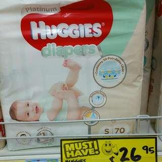 Huggies Platinum Size S