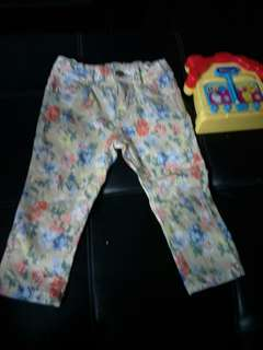 Pants for baby girl