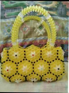 Handcraft Bags made in beads