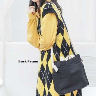 Duck-Young Canvas Tote Bag.
