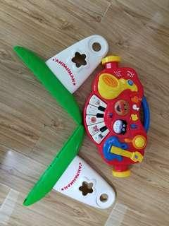 麵包超人玩具琴