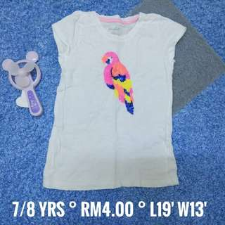 7/8 years - Kids Cloth Shirt Dress Baby Girl Boy