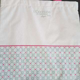 Brand New L'occitane shopping bag 環保袋