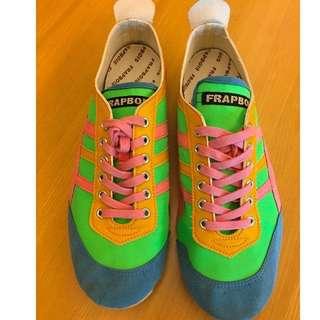 FRAPBOIS x Moonstar shoes 9成5新 日本購入