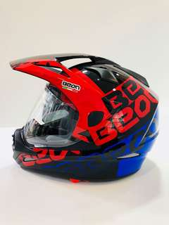 BEON mortard 2-in-1 full face helmet