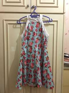 Halter Dress Flower