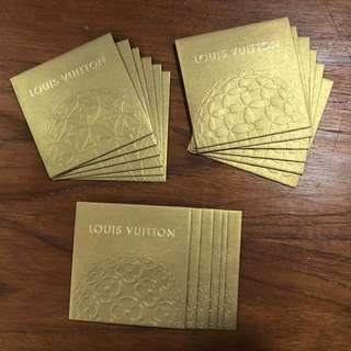 Louis Vuitton gold angpow packet