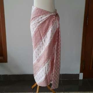 Parang batik brown songket