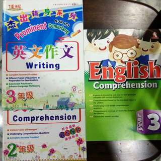 Primary School Workbook (3 books)