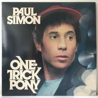 Paul Simon ‎– One-Trick Pony (1980 USA Original - Vinyl is Mint)