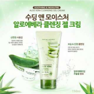 Nature Republic Soothing & Moisturizer Aloe Vera 92% Cleansing Gel Cream 150ml