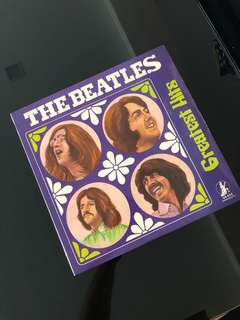 The Beatles Greatest Hits LP, Vinyl Record