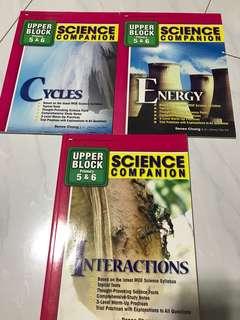 BN Science assessment books
