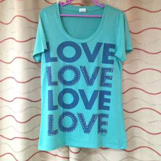 Size Large: Victoria Secret Studded Tee