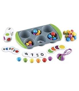 Learning Resources Mini Muffin Match Up, 77 oieces