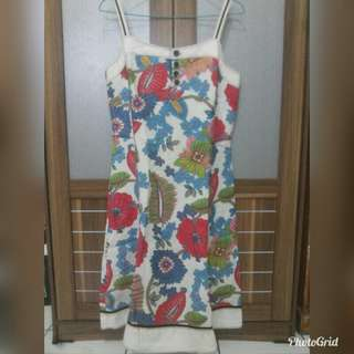 Dress flowers free outer red