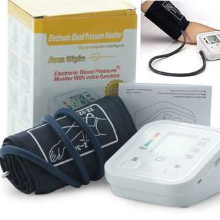 Portable Automatic Blood Pressure Monitor