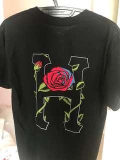 HUF BLACK Tshirt