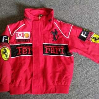Pre-loved Ferrari Car Racer Costume OOTD  (Fits 1-3 yo)