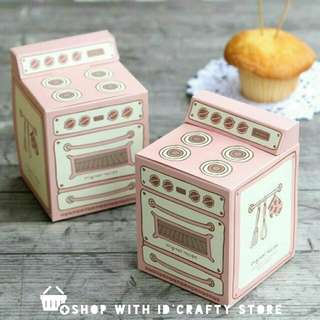 inStock Pink Vintage Oven Boxes