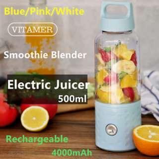 [OOS] Vitamer Bottle Blender v2 500ml / detachable bottle