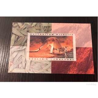 🎉(包平郵) 澳洲郵票 - Australian Wildlife 🐨 & Kangaroo