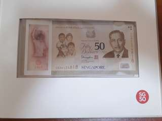 SG50 Commemorative Note